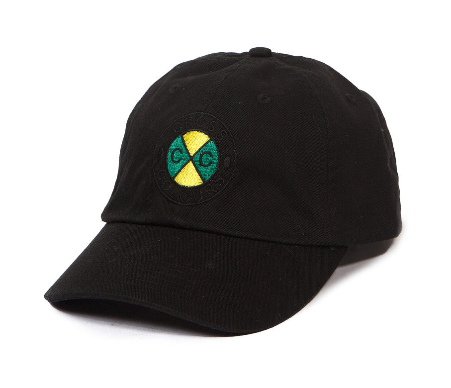 Cross Colours Classic Embroidered Dad Hat - Black