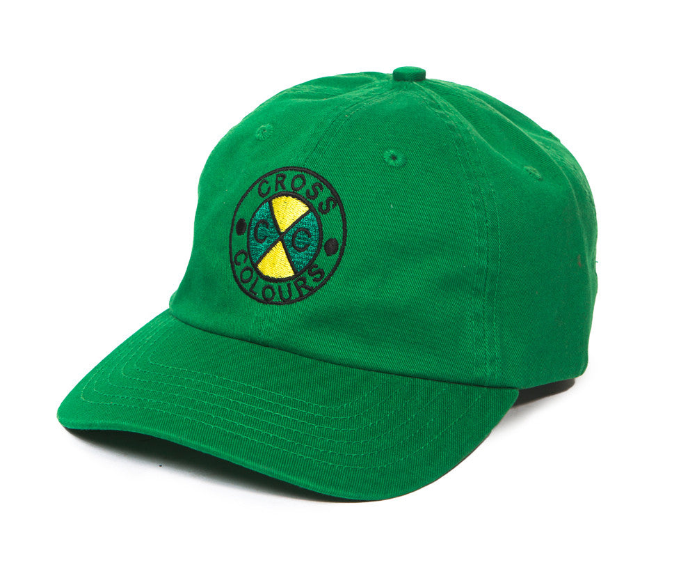 Cross Colours Classic Embroidered Dad Hat - Green