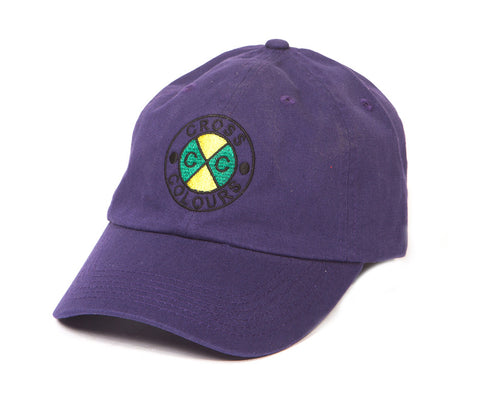 Cross Colours Classic Embroidered Dad Hat - Purple
