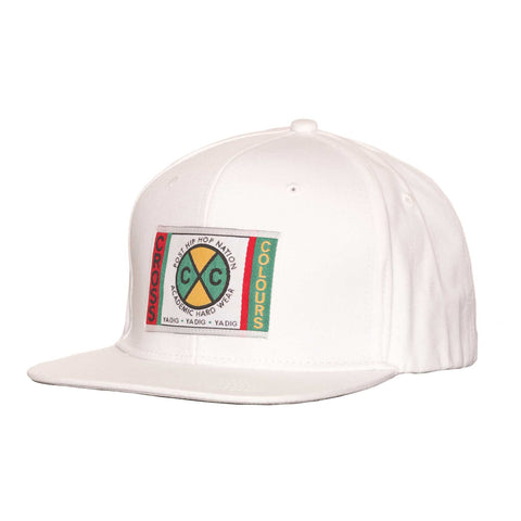 Cross Colours Classic Snapback - White