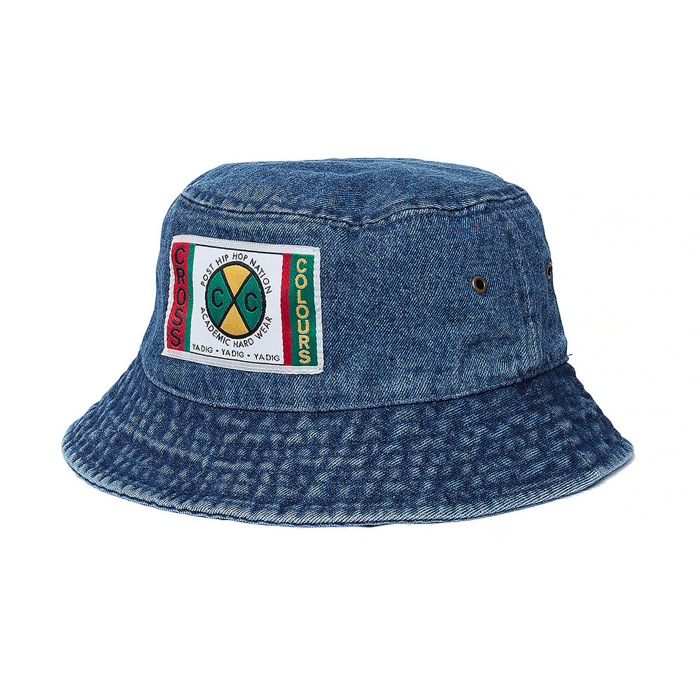 Cross Colours Denim Bucket Hat - Dark Indigo