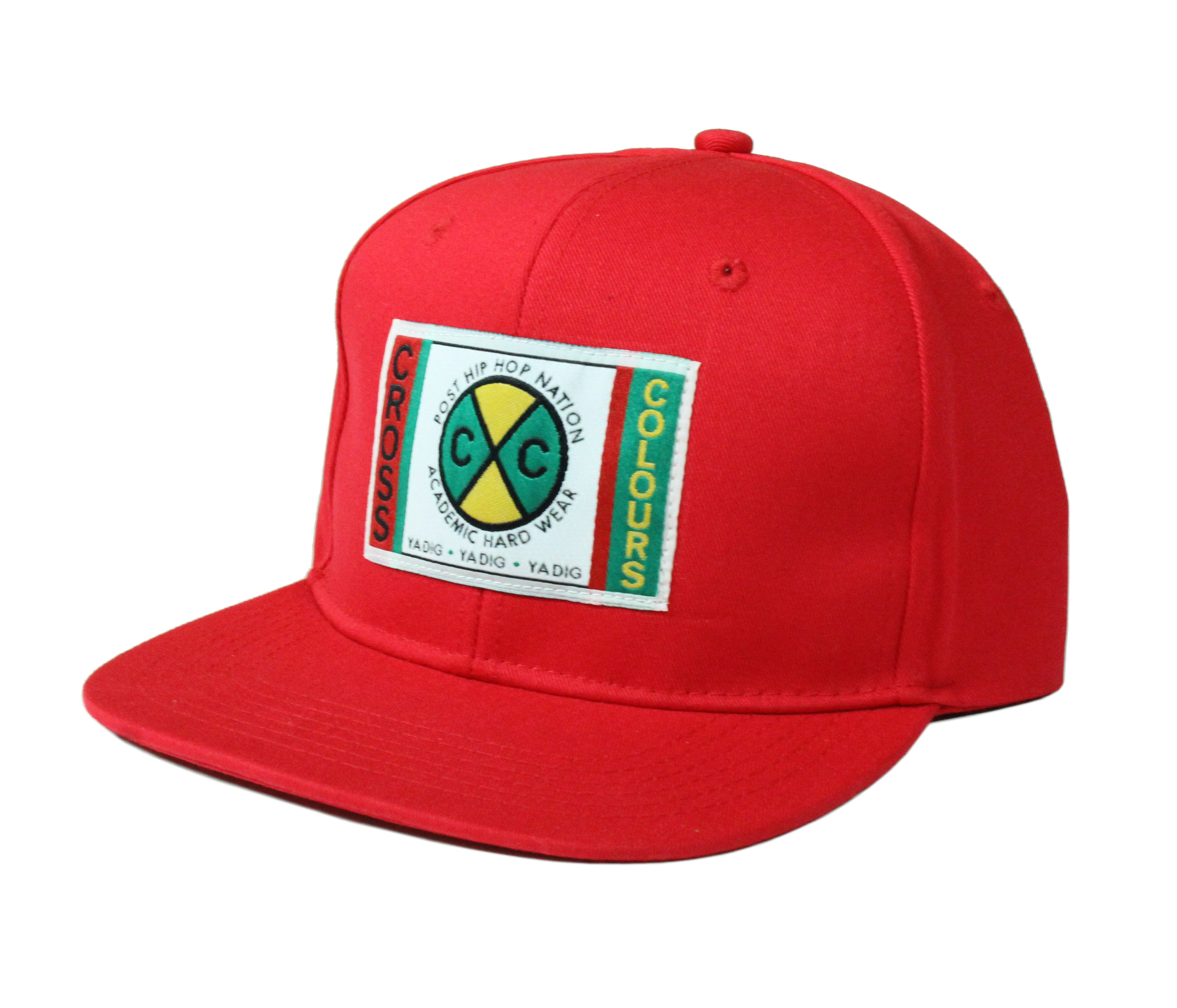 Cross Colours Classic Snapback - Red