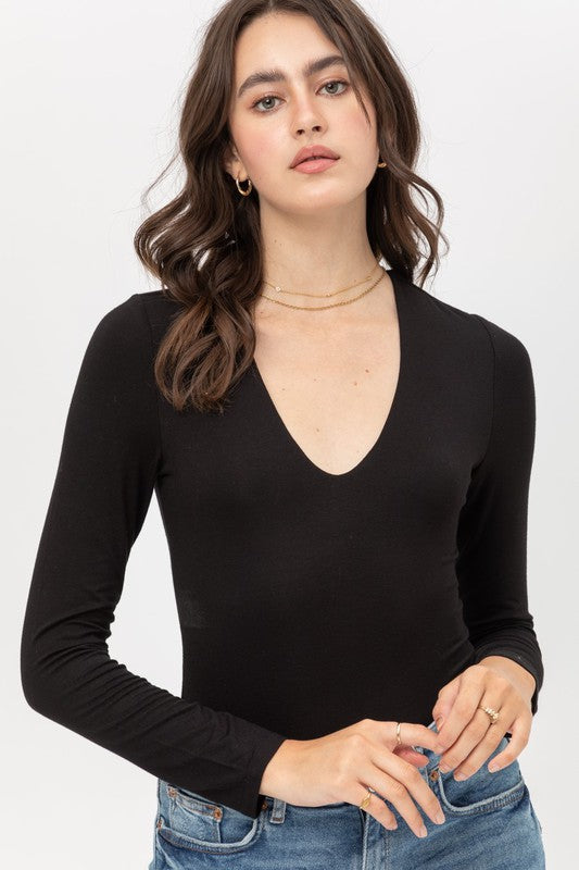 Amber Long Sleeve Bodysuit
