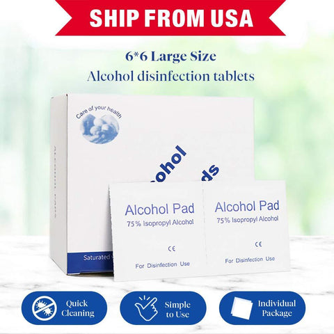 Alertcare - Alcohol Disinfectant Cotton Slices - Alert Care Inc
