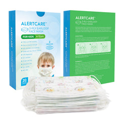 AlertCare Kids 3-ply Disposable Face Mask (20 PCs) - Alert Care Inc