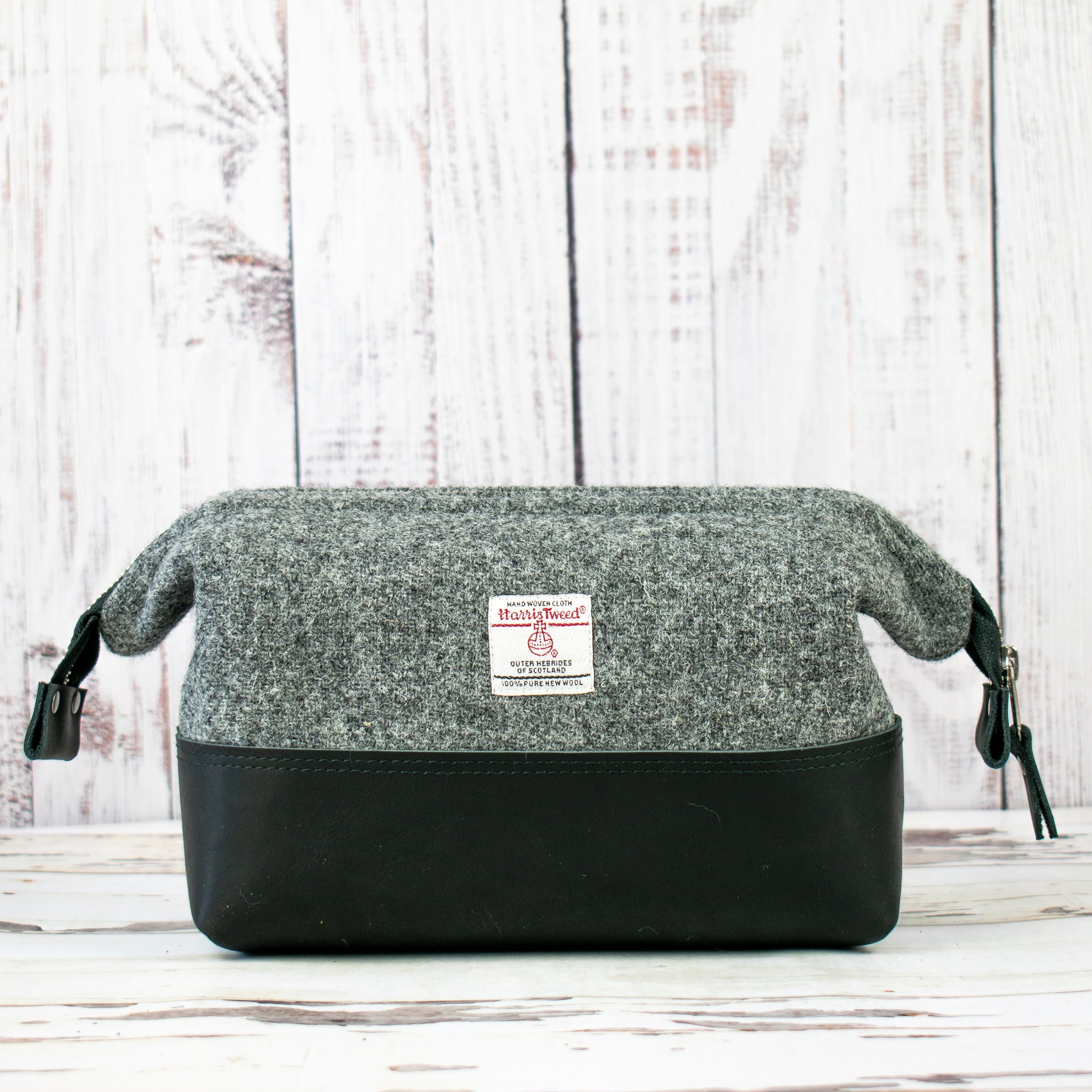 Harris Tweed® Gael Bag - Mid-Grey