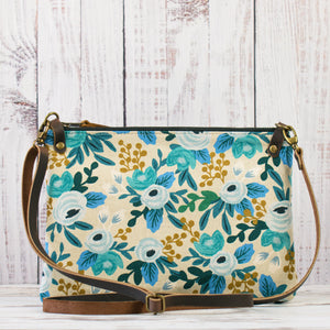 Aisling Bag - Navy/Garden Party Rosa