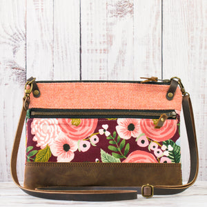 Aisling Bag - Peach/Juliet Rose