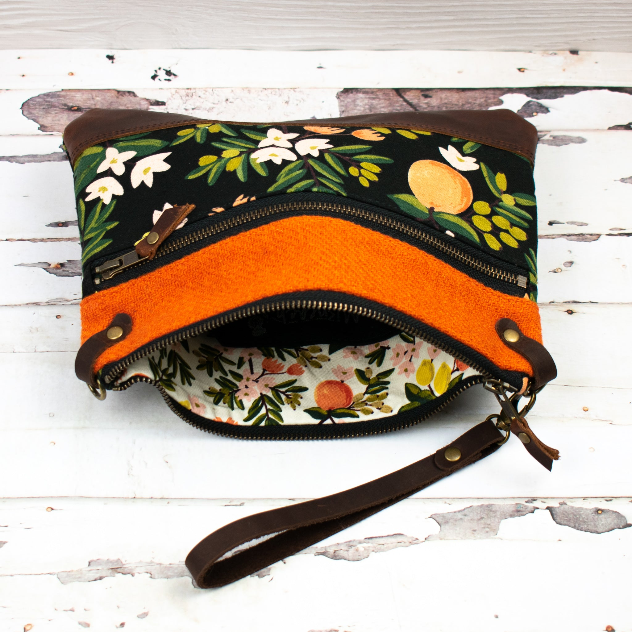 Aisling Bag - Orange/Primavera