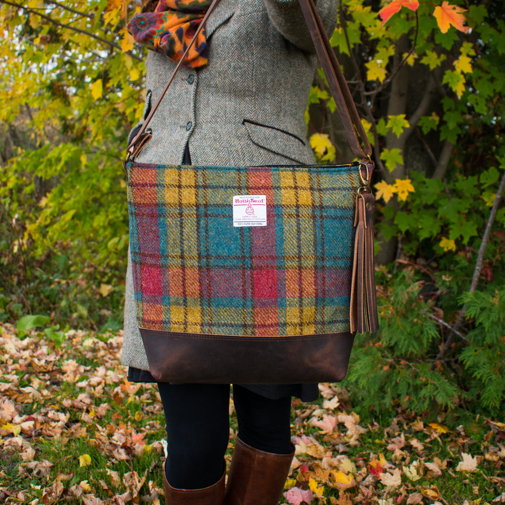 The Bonny Bag - Muted Tartan - Made to Order