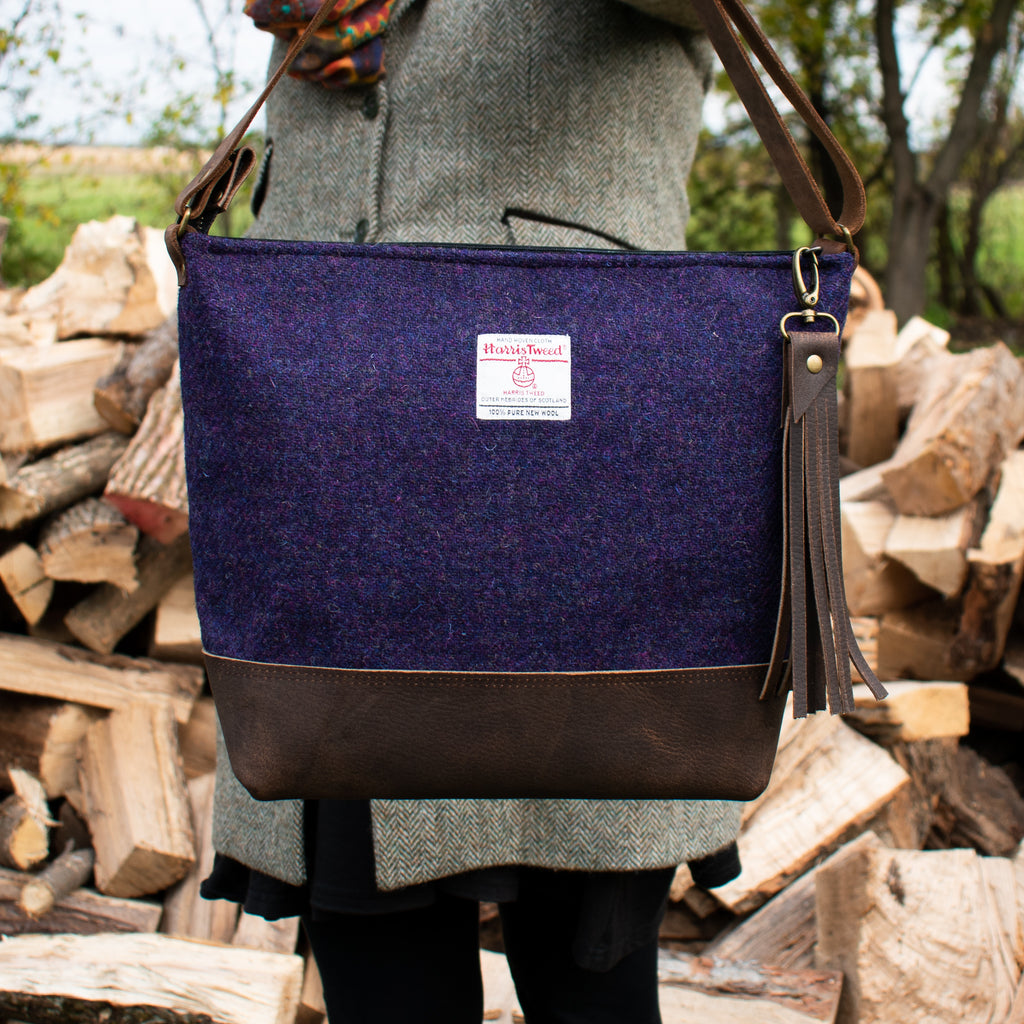 The Bonny Bag - Dark Purple - Made to Order