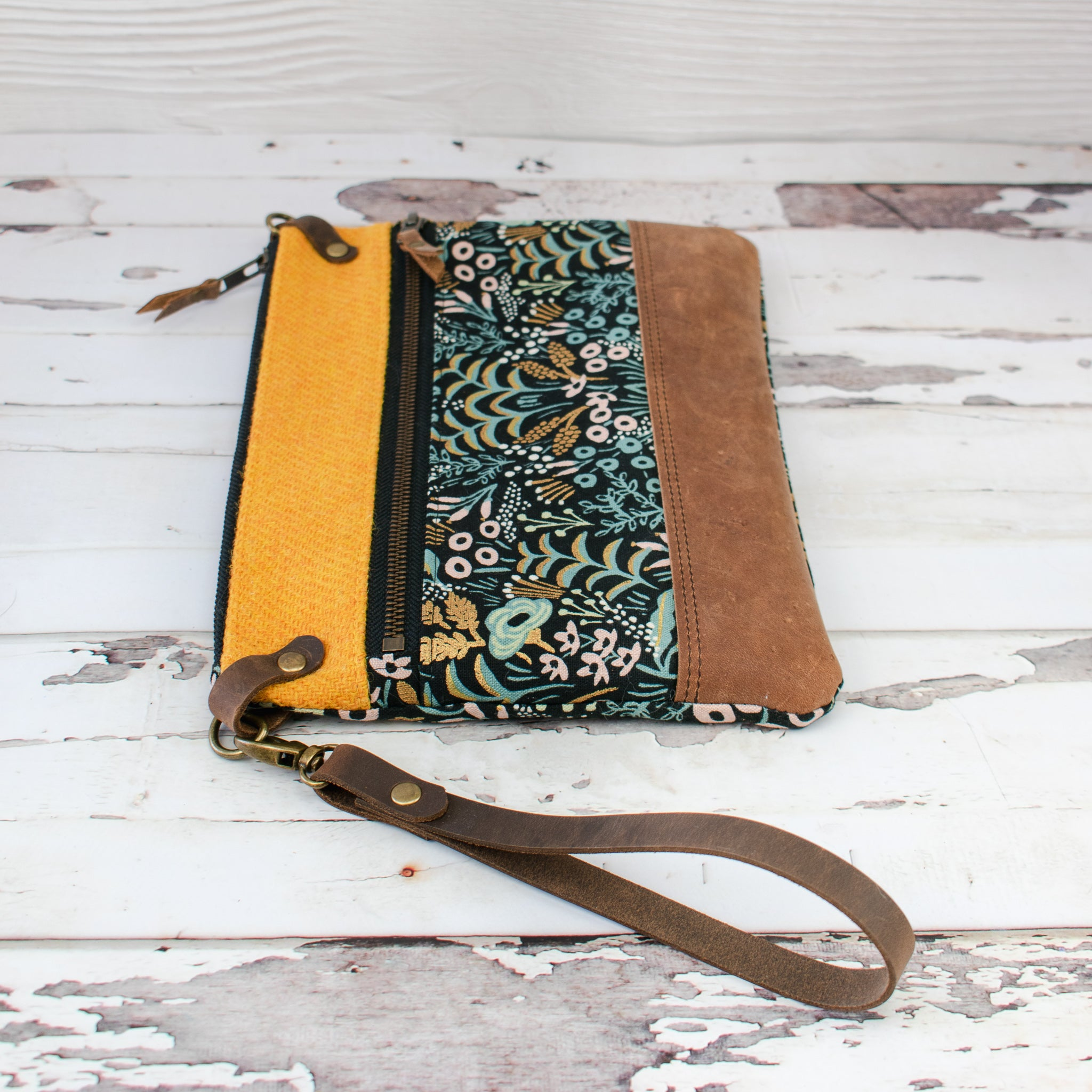 Aisling Bag - Mustard/Menagerie - Made to Order