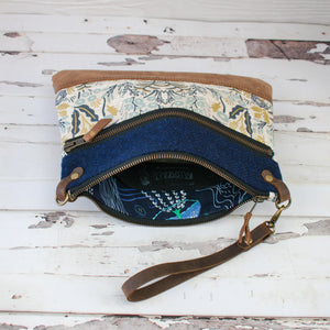 Aisling Bag - Navy/Menagerie