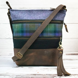Tweed and Tartan Crossbody Bag - The Isle of Skye