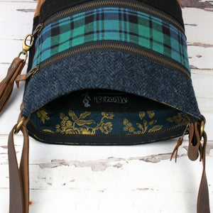 Tweed and Tartan Crossbody Bag - The Campbell