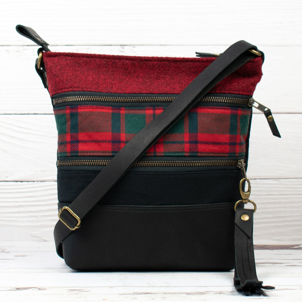 Tweed and Tartan Crossbody Bag - The MacIntosh