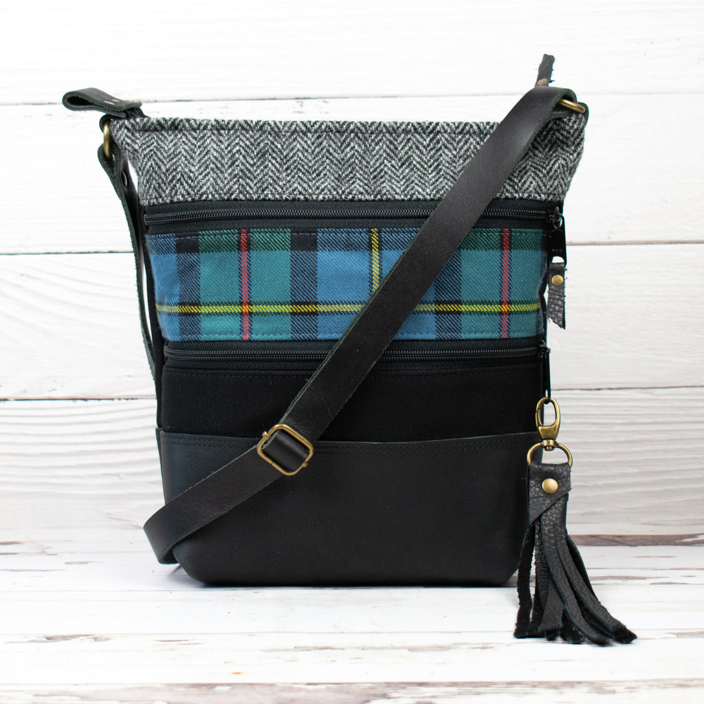 Tweed and Tartan Crossbody Bag - The MacLeod
