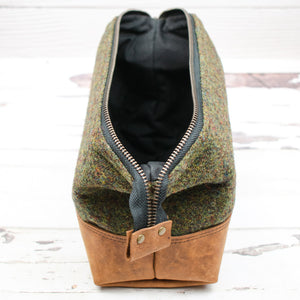 Harris Tweed® Gael Bag - Moss Green - Made to Order