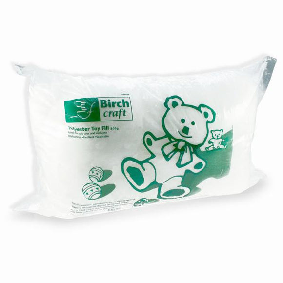 Birch Creative Toy Fill - 100% Polyester 500g