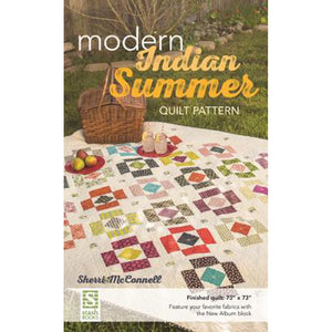 "Sherri McConnell ""Modern Indian Summer"" Quilt Pattern"