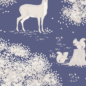 "Tilda ""Woodland Main in Blue"" Quilt Collection Fabric by Tone Finnanger"