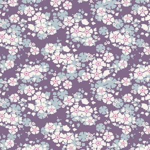 "Tilda ""Woodland - Aster in Violet"" Quilt Collection Fabric by Tone Finnanger"