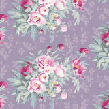 "Tilda ""Woodland - Hazel in Lavender"" Quilt Collection Fabric by Tone Finnanger"