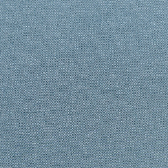 Arriving Soon! Pre-order now - Tilda Chambray Basic in Petrol - Quilt Collection Fabric by Tone Finnanger