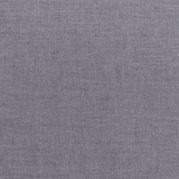 Tilda Chambray Basic in Grey - Quilt Collection Fabric by Tone Finnanger