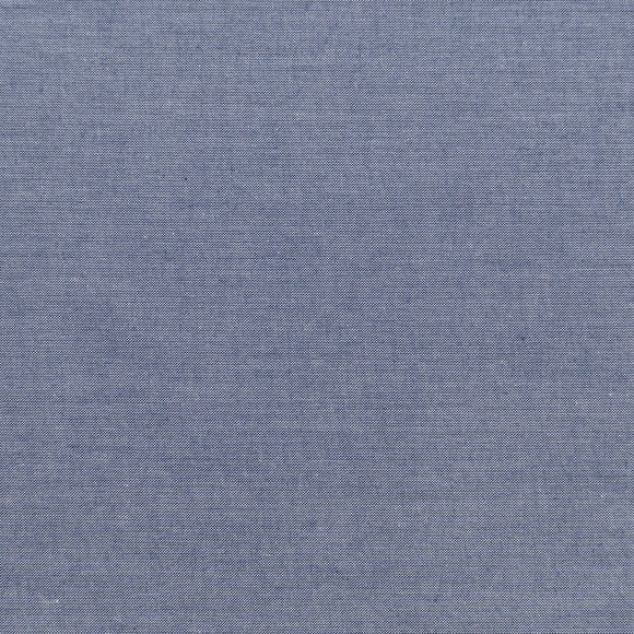 Arriving Soon! Pre-order now - Tilda Chambray Basic in Dark Blue - Quilt Collection Fabric by Tone Finnanger