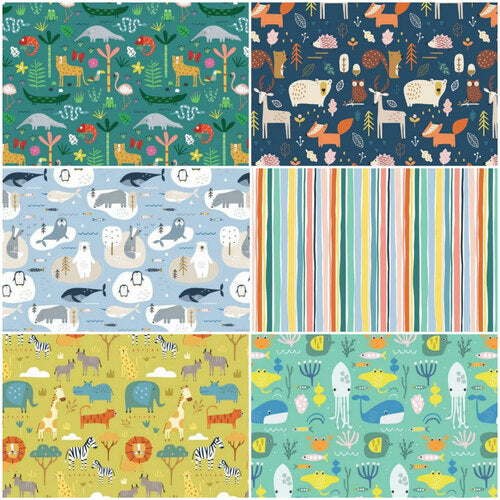 Dashwood Studio FQ Fabric Pack -