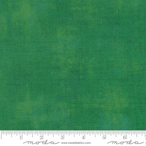 "Moda Fabrics + Supplies ""Grunge Basics - Kelly Green"" by Basic Grey"