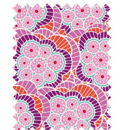 "Tilda ""BirdPond - Klara Lilac"" Quilt Collection Fabric by Tone Finnanger"