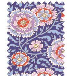 "Tilda ""BirdPond - Elodie Lilac Blue"" Quilt Collection Fabric by Tone Finnanger"