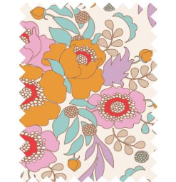 "Tilda ""BirdPond - Anemone Honey"" Quilt Collection Fabric by Tone Finnanger"
