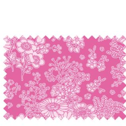 "Tilda ""Sunkiss - Imogen Pink"" Quilt Collection Fabric by Tone Finnanger"