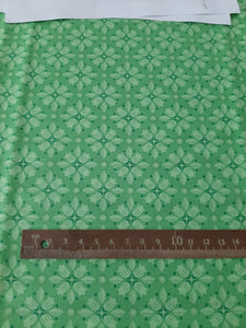 "Clothworks ""Blossom Bliss"" in Green by Cary Phillips"