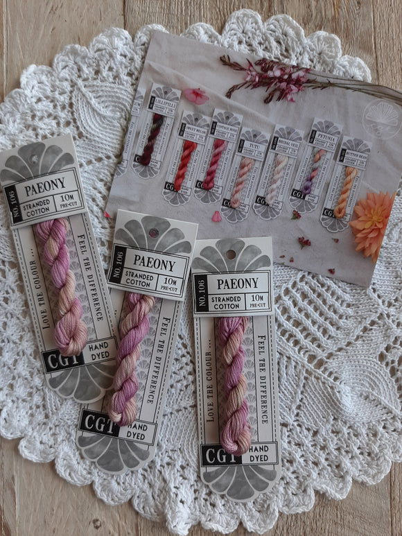 Cottage Garden Threads for Hand Stitching and Embroidery 100% Cotton - Signature Range - See Options