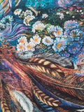 "Three Wishes Fabric ""Celestial Journey"" Fabric Panel by Josephine Wall"