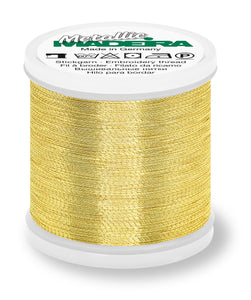Madeira Metallic Thread for Hand or Machine Stitching 200m - See Options