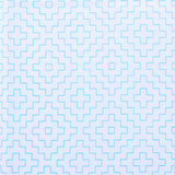Sashiko Sampler Pre Printed Panel - Geometric in White
