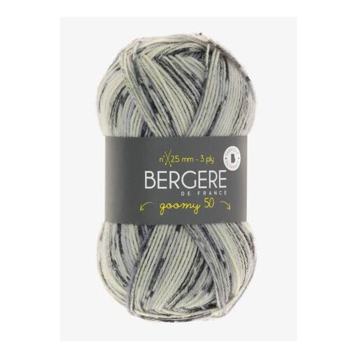 Begere de France Goomy 50 Imprim 3 ply Yarn 50g - See Options