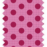"Tilda ""Dots - Maroon"" Quilt Collection Fabric by Tone Finnanger"