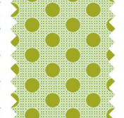 "Tilda ""Dots - Green"" Quilt Collection Fabric by Tone Finnanger"