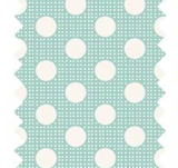 "Tilda ""Dots - Teal"" Quilt Collection Fabric by Tone Finnanger"