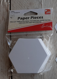 Sew Easy Paper Pieces - Hexagons 1 1/2""