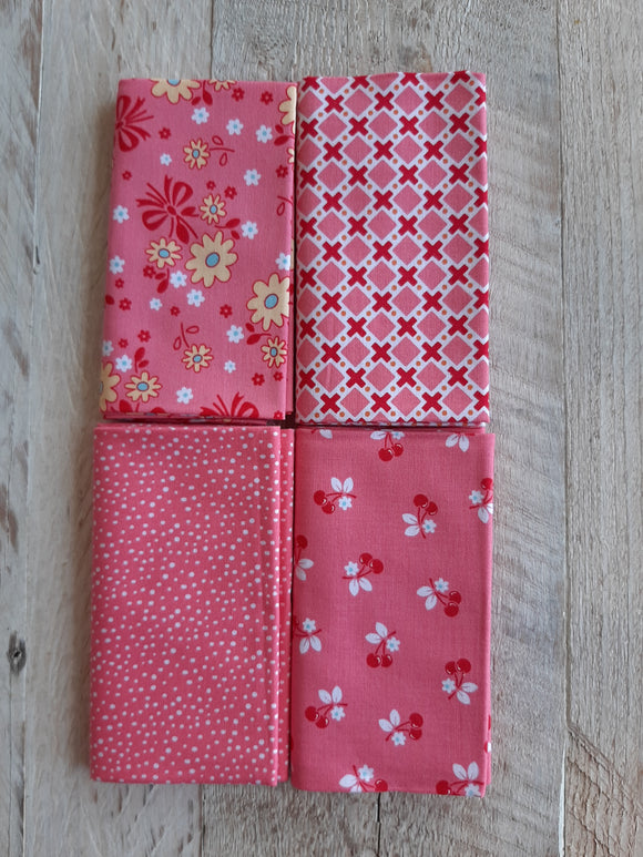 Fat Quarter Fabric Pack - Pinks