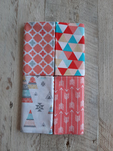 Fat Quarter Fabric Pack - Teepees