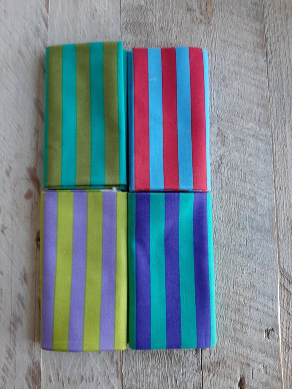 Fat Quarter Fabric Pack - Stripes 2