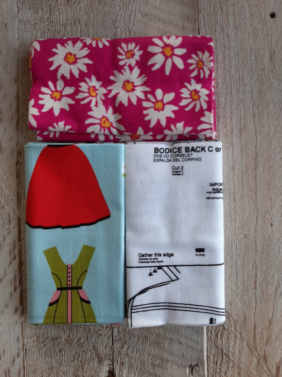 Fat Quarter Fabric Pack - Dress Pattern